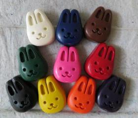 Large Bunny Crayon Set of 14