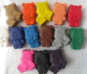 Winnie the Pooh Bear Crayon Set of 14