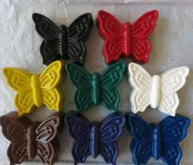 Giant Butterfly Crayon Set of 28
