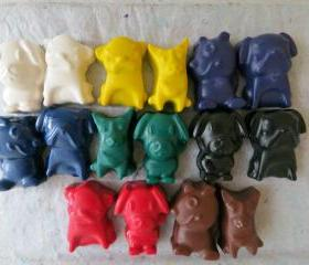 Puppy Dog Crayons Set of 56