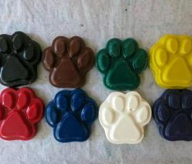 Dog or Puppy Paws Crayon Set of 28