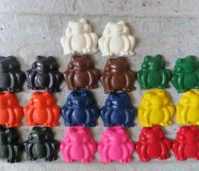 Sitting Frog Crayon Set of 56