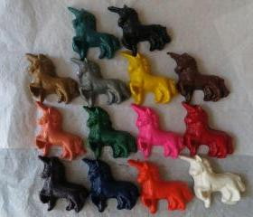 Unicorn Horse Crayon Set of 12