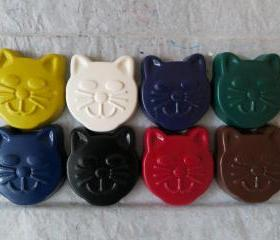 Large Cat Crayon Set of 14