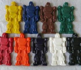Large Robot Crayon Set of 14