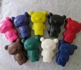 Kawaii Bear Crayons Set of 56