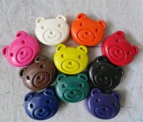 Large Bear Crayon Set of 14