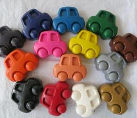 Large Car Crayon Set of 14