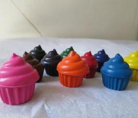 Cupcakes Crayon Set of 28
